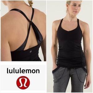 LULULEMON Practice Daily Tank Black Size 6
